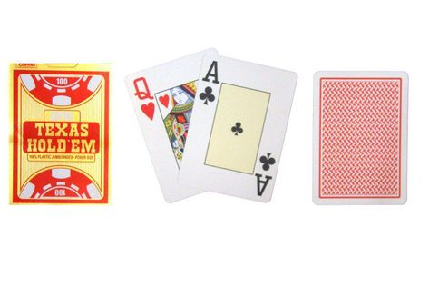 Poker Karty COPAG czerwony Gold TH02075