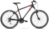 """Rower górski na komunię Kross GO Esprit 1 M 26 XS(15"""") czarno-czerwony"""