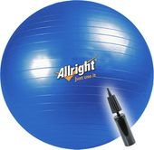 Piłka gimnastyczna Allright 75 cm + pompka