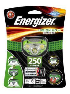 LATARKA CZOŁOWA ENERGIZER VISION HD+ CZOŁÓWKA 3LED