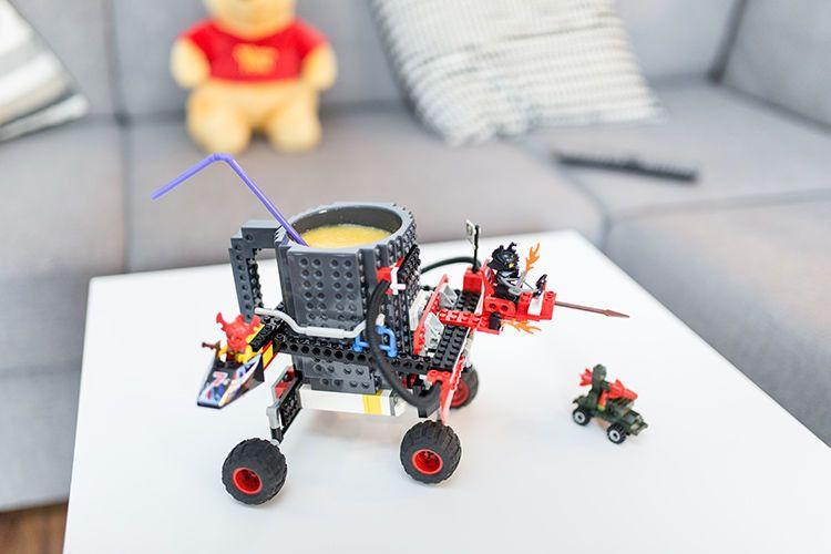 Kubek Z Klocków Czarny Lego Arenapl