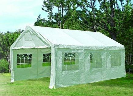 Pawilon handlowy Namiot ogrodowy 4x6 m Stalowy