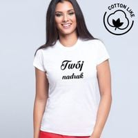 Damska koszulka Cotton Like z Twoim nadrukiem M