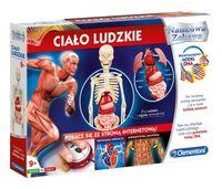 Clementoni Zestaw Naukowy Ciało Ludzkie 60249