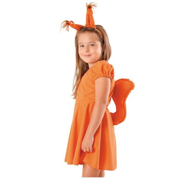 STRÓJ WIEWIÓRKA sukienka WIEWIÓRKI kostium 134/140 zdjęcie 1