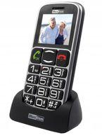 NOWY TELEFON KOMÓRKOWY MAXCOM MM462BB DLA SENIORA