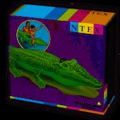 Intex Materac dmuchany aligator 168x86cm 58546