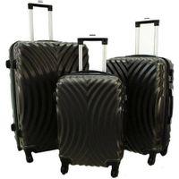 Zestaw 3 walizek PELLUCCI RGL 760 Szare