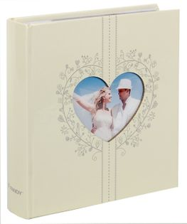 ALBUM ŚLUBNY, ślub szyty na 200 zdjęć 10x15 cm opis COUPLE ecru