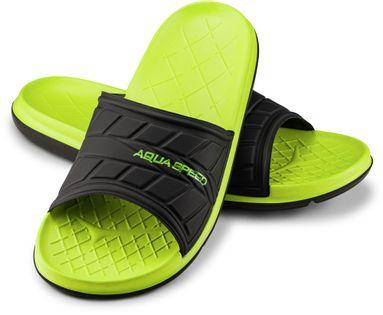 Klapki basenowe ASPEN Rozmiar - Klapki - 36, Kolor - Aspen - 38 - zielony / czarny
