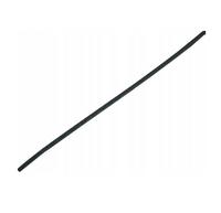 Rurka termokurczliwa dł 1m śr 12.7mm czarna