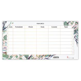 Plan Lekcji Suchościeralny Floral