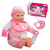 Lalka interaktywna Baby Bobas 46cm + akcesoria Y34