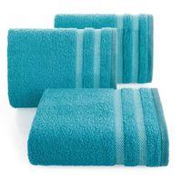 Ręcznik frotte z bordiurą 70X140 turkus