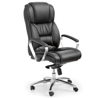 Ekskluzywny fotel biurowy skóra naturalna