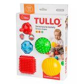 TULLO Sensoryczne kształty 5szt do ćwiczeń i zabawy gryzaki 0m+