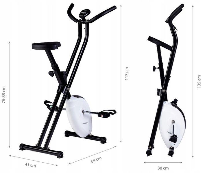 Rower fitness rowerek treningowy zdjęcie 4