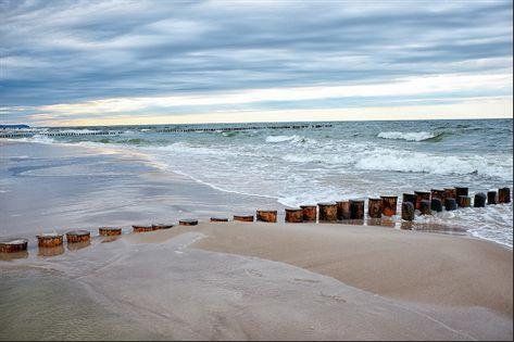 Fototapeta Plaża MORZE Piasek Wydmy do Salonu 3D 135x90