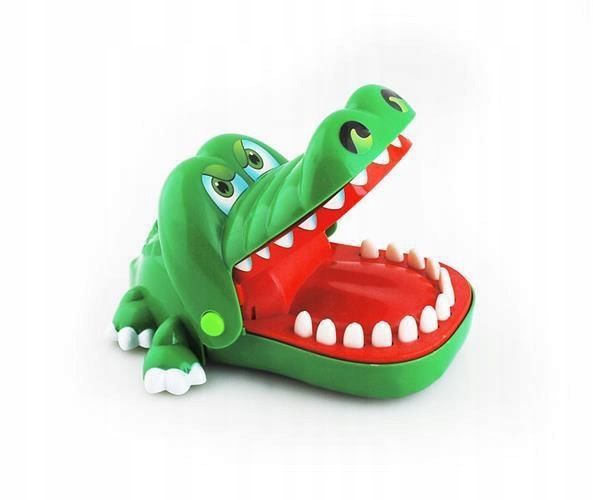 GRA krokodyl KAJMAN CHORY ZABEK U DENTYSTY zdjęcie 1