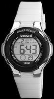 Xonix Damski zegarek kwarcowy, wielofunkcyjny, stoper, timer, wodoszczelny 100 m, antyalergiczny