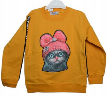 Bluza Kot ocieplana. roz.110