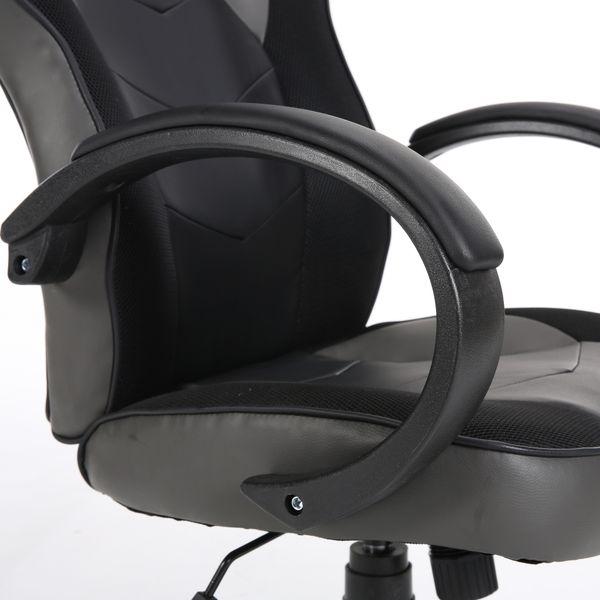 Obrotowy fotel gamingowy NORDHOLD - ULLR gracz - szary/gray zdjęcie 8