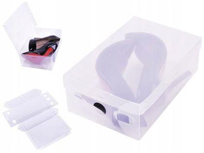 Pudełko organizer na buty obuwie pojemnik składany