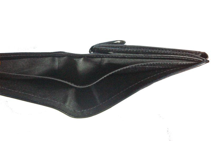 Skórzany portfel męski Peterson, RFID, czarny zdjęcie 7