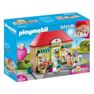 Playmobil 70016 City Life Moja kwiaciarnia Domek