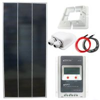 Zestaw solarny 120W 12V MPPT Tracer