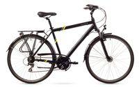 Rower Trekkingowy Męski 28 rama 21 TREKKING czarny
