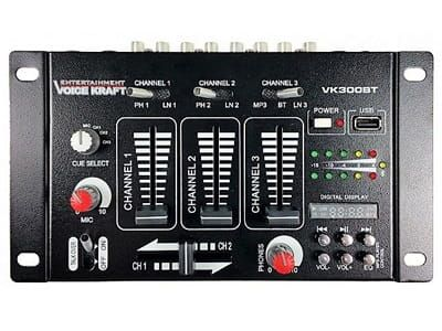 Mikser z bluetooth, USB I mic. Voice Kraft VK-300BT zdjęcie 1