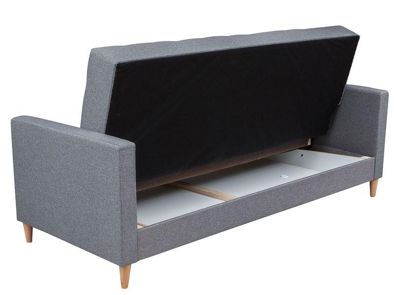 Skandynawska sofa Quest z pojemnikiem - kanapa rozkładana zdjęcie 5