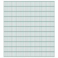 Panele ogrodzeniowe 2D - 2008x2230 mm 32 m Zielone VidaXL