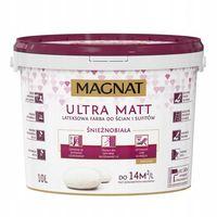 Magnat Ultra Matt - Biała farba lateksowa 10L