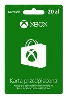 Karta przedpłacona Xbox Live 20 zł