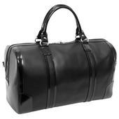Skórzana męska torba podróżna McKlein Kinzie czarna