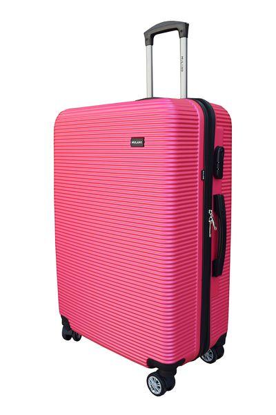 WALIZKA WALIZKI kółka torba samolot ZESTAW XL + L RÓŻOWA 1355 + 1356 zdjęcie 6