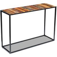 Stolik-konsola z drewna odzyskanego 110x35x76 cm