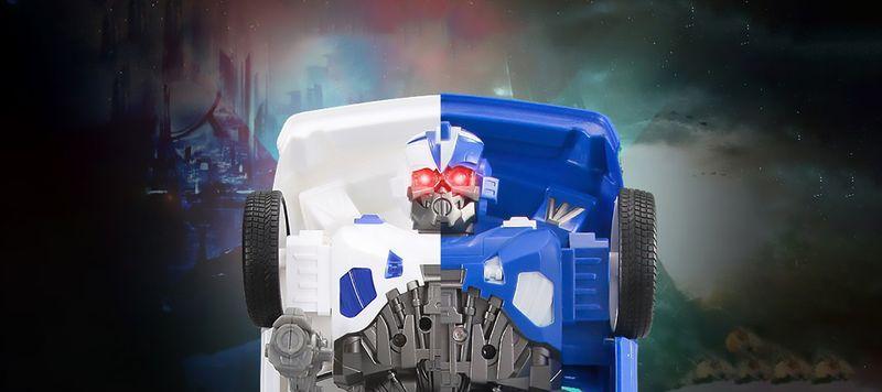 Transformers auto policja robot sterowany pilotem RC Y170 zdjęcie 7