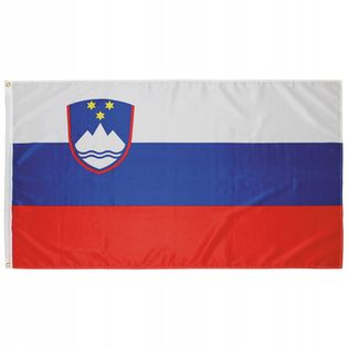 Flaga na maszt 90 x 150 cm Słowenia