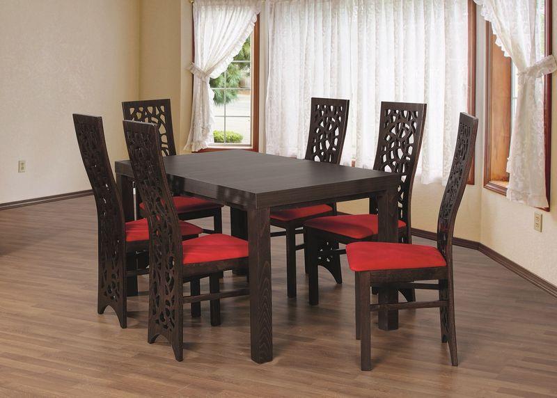 Napoli 11 Stylowe Krzesło Drewniane Do Salonu Różne Tkaniny I Kolory