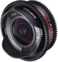 Samyang 7.5mm T3.8 Cine Fish-Eye Obiektyw mocowanie Micro 4/3 Olympus