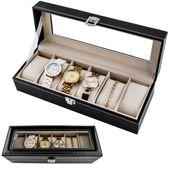 Organizer Pudełko Etui Na Zegarki Na 6 Zegarków 1520