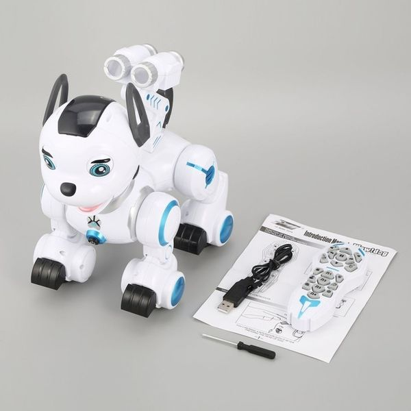 ROBOPIESEK piesek pies robot zdalnie  sterowany interaktywny  Y71 zdjęcie 11