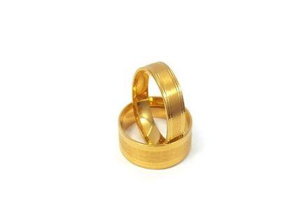 Złote Obrączki Ślubne 333 model FA13 DUŻY WYBÓR
