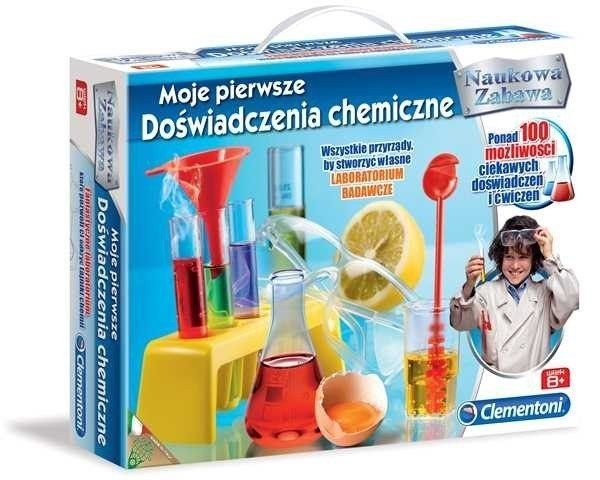 CLEMENTONI Moje pierwsze doświadczenia chemiczne zdjęcie 1