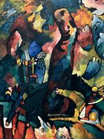 Reprodukcje obrazów Picture with an Archer - Wassily Kandinsky Rozmiar - 80x60