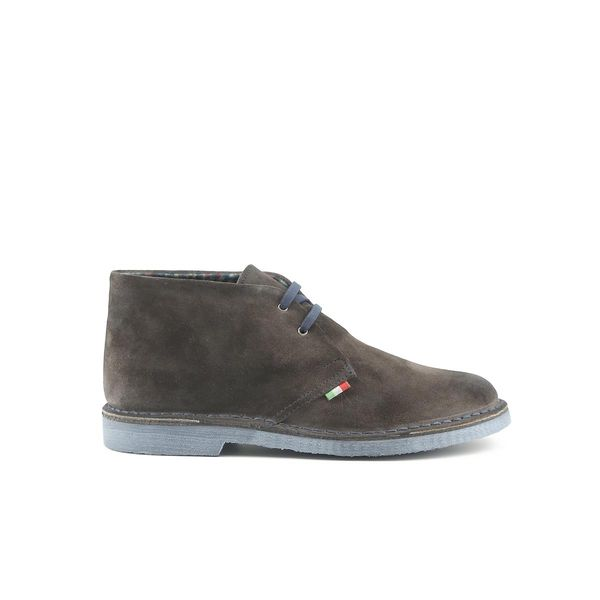 c0aad6f91a376 Made in Italia skórzane buty męskie sztyblety szary 43 zdjęcie 1 ...