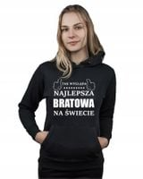 Bluza kangur NAJLEPSZA BRATOWA NA ŚWIECIE XL